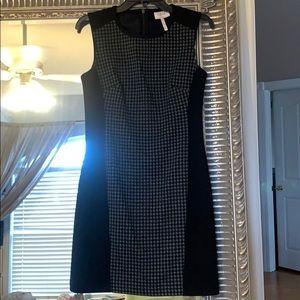 Laundry Black Detailed Work Dress